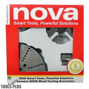 Nova Lathes 6038 Small Chuck Jaw Accessory Bundle New