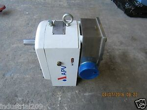 Apv Spx Size R4 Stainless Sanitary Pump New