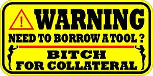 Warning Decal Sticker New Snap On Mac Tools 10 Pack