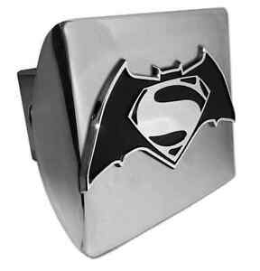 Batman Versus Superman All Metal Shiny Chrome Hitch Cover