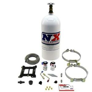 Nitrous Express Ml1000 Mainline Holley 4150 4bbl Plate Kit System W 10 Lbs