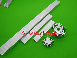 100 150 300mm High Power Led Aluminum Heatsink For 1w 3w 5w 10w 10 3w Led Light
