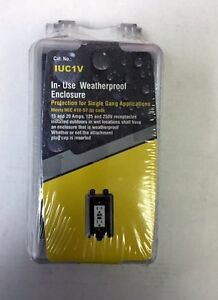 10 Pc Lot 1 gang In use Bubble Weatherproof Cover Outdoor Switch outlet