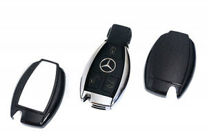Mercedes Benz Black Remote Key Cover Case Skin Shell Cap Fob Protection Start