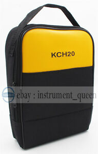 Soft Case bag Use For Multimeter Clamp Meter Process Meter Thermometer Networks