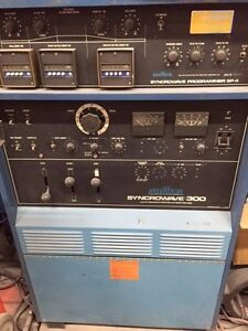 Miller Syncrowave 300 sp 4 With Foot Pedal and Torch