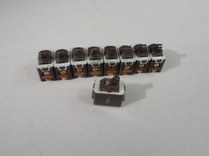 Lot Of 9 Vintage A h h Switches