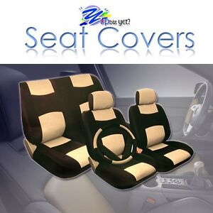 2005 2006 2007 2008 2009 For Scion Tc Seat Covers Set New