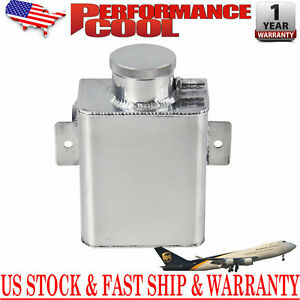 1 25l Aluminum Radiator Coolant Overflow Expansion Tank