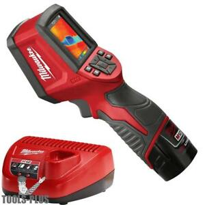 Milwaukee M12 7 8kp Thermal Imager 2258 21 New
