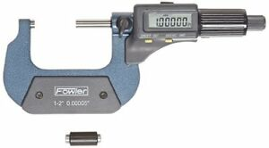 Fowler 54 850 002 Electronic Outside Micrometer 1 2 00005 001mm