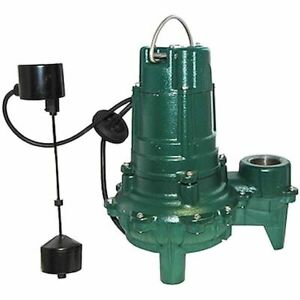 Zoeller Wm266 1 2 Hp Replacement Sewage Pump For Qwik Jon reg Units