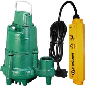 Zoeller N98 1 2 Hp Cast Iron Submersible Sump Pump W Levelguard Switch