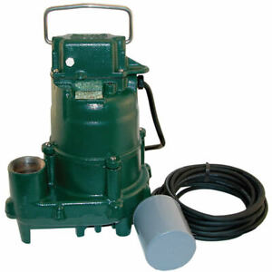 Zoeller Bn152 4 10 Hp Cast Iron High Head Effluent Sump Pump W 20 Varia