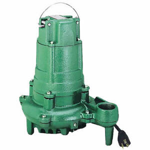 Zoeller N137 1 2 Hp Cast Iron Sump Effluent Pump non automatic