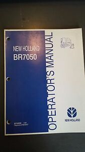 New Holland Br7050 Round Baler Operator s Manual 2008