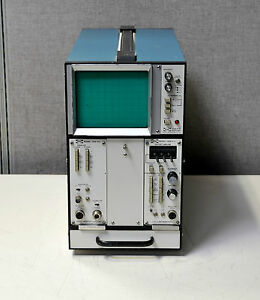 Tektronix Pacific Measurements Pm 1038 Display Mainframe W 1038 v12