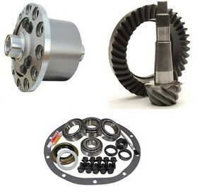 Jeep Yj Dana 30 Reverse 4 56 Ring And Pinion Truetrac Posi Elite Gear Pkg