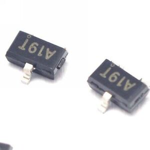 100pcs Ao3401 A19t 4 2a 30v Sot 23 P channel Mosfet Smd Transistor