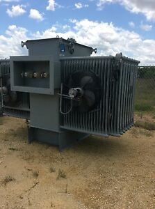 Westinghouse Substation Transformer 1500 Kva Primary 13800 Secondary 480y 277