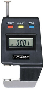 Fowler 54 550 500 Digital Thickness Gage 0 600 15mm