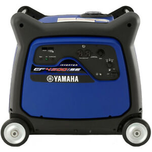 Yamaha Ef4500ise 4000 Watt Electric Start Inverter Generator