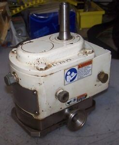 Apv Spx 1 1 2 Santitary Positive Displacement Pump Size R1 3 4 Dia