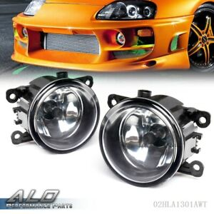 Right Left Side Fog Light Lamp H11 Bulb For Acura Honda Ford Nissan Suzuki