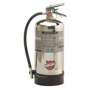 Buckeye 50006 Fire Extinguisher 1a k Wet Chemical 6 L