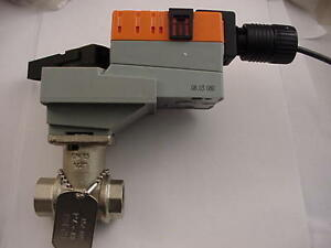 Belimo Lrb24 3 Actuator With 1 2 Valve B214b Lrb24 3 Ships Day Of Purchase