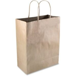 Cosco Premium Large Brown Paper Shopping Bags 091565