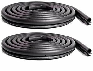 1984 1996 Jeep Cherokee Comanche Front Or Rear Door Weatherstrip Seals Pair