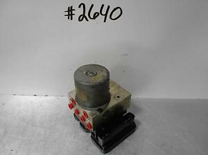 Kia Forte Anti Lock Brake Part Actuator And Pump Assembly Hydraulic Unit Sdn