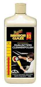 Meguiar S Mirror Glaze 83 The Professional Bsp Dual Action Cleaner Polish