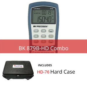 Bk 879b hd Deluxe Universal Lcr Meter With Multipurpose Hard Case