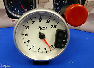 Marshall 3296 5 Tachometer 10 000 Rpm Memory Tach With Recal Shift Light