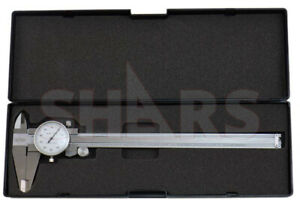 Shars 8 Dial Caliper 001 Shock Proof Stainless 4 Way Inspection Report S