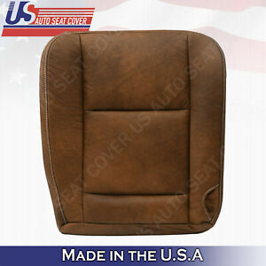 Driver Bottom Leather Seat Cover 2005 2006 2007 Ford F250 F350 F 250 King Ranch