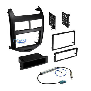 Car Radio Stereo Double Din Dash Kit Harness For 2012 2013 Chevrolet Sonic