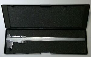 Fowler 52 052 012 0 Vernier Caliper W Fine Adjustment 0 12 300mm