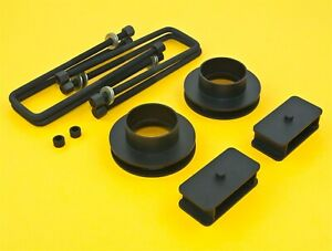 Steel Lift Kit Front 3 Rear 1 5 Gmc Chevy 88 98 2wd 8 Lug C2500 C3500