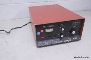 Branson Heat Systems Ultrasonics Sonifier Cell Disruptor W 350