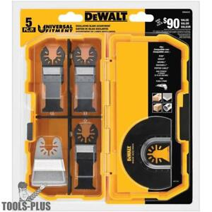 Dewalt Dwa4216 5pc Oscillating Blade Set New