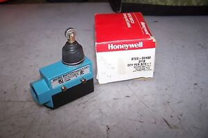 New Honeywell Micro Switch Dte6 2rn80 Limit Switch 125 250 Vac Roller Head