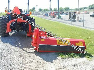 Flail Ditch Bank Side Trim Verge Mower Maschio Girafetta 180si 70 Cut 40 55hp