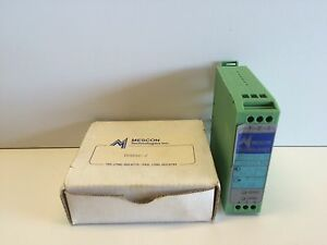 New Old Stock Mescon Isotec 2 Current Loop Powered Isolator 9612978