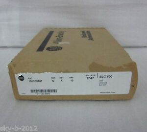 Ab Plc Firmware Upgrade Kit 1747 du501 1747du501 New In Box Factory Sealed