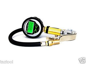 New Air Tire Inflator With High Accurate Digital Pressure Gauge With Clip Chuck