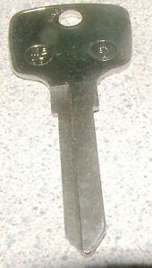 Key Blank Mercedes Benz 1970 Mercedes Benz 1971 Mercedes Benz 1972 Made In Usa