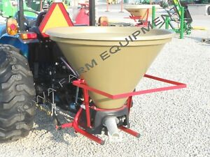 Pendulum Spreader grass Seeder fertilizer Spreader warm Season Grasses 5bu bmc